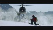 Екстремно каране на сноуборд и ски ..