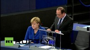 """France: Hollande warns of """"total war"""" if Syrian crisis is not ended"""