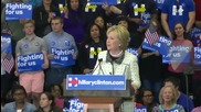 USA: Clinton addresses supporters after big win in South Carolina primaries