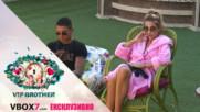Енджи се смущава от въпросите на Шефа- VIP Brother 2017