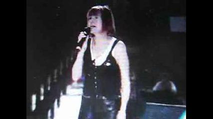 Лили Иванова взима участие на концерта на Йосиф Кобзон - 31.08.1997г. Русия