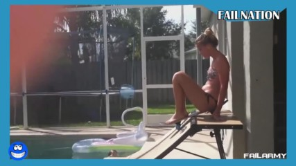 Гафове в басейна - Много смях