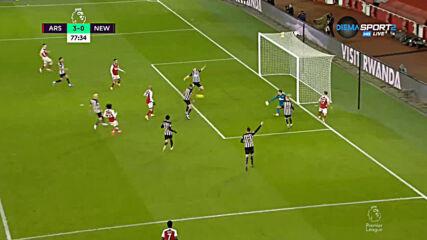 Арсенал - Нюкасъл 3:0 /репортаж/