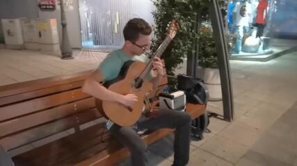 С класическа китара в центъра на Бургас - 2 септ. 2021