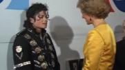 Майкъл Джексън се среща с Принцеса Даяна и Принц Чарлз 1987