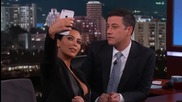 Kim Kardashian West Teaches Jimmy Kimmel How To Take a Selfi