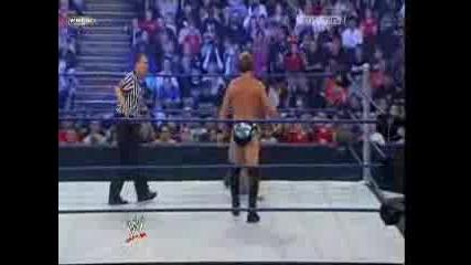 Unforgiven 2008-Shawn Michaels vs Chris Jericho
