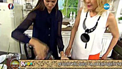 """""""На кафе"""" с рецепти от евродепутата Ева Паунова (10.06.2016)"""
