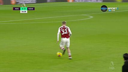 Арсенал - Нюкасъл 0:0 /първо полувреме/