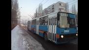 Тролейбус 2922 по линия 6 в София