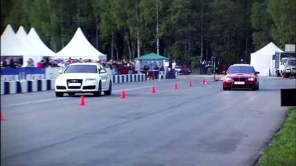 Bmw M3 Ess vs Audi Rs6 Evotech