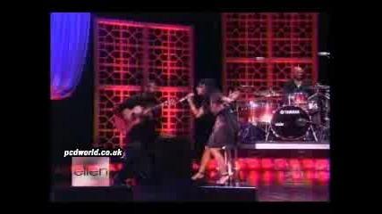 Nicole Scherzinger-Baby Love (Live)