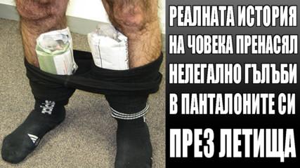 Реалната история на човека пренасял нелегално гълъби в панталоните си през летища!