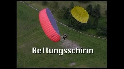Използване на спасителен парашут
