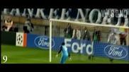 Топ 15 гола Шампионска Лига 2008/09 [hd]