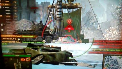 Унищожаване на 10 танка(wot)