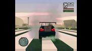 Grand Theft Auto Sa Dirty Mod Gameplay Tuning, Drag And Drifting