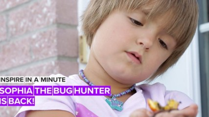 Inspire in a Minute: From bullied bug hunter to kid author