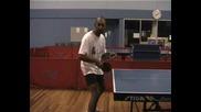 Уроци по тенис на маса - Позиция за готовност