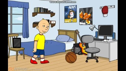 caillou Breaks His Dads Ipod And Gets Grounded