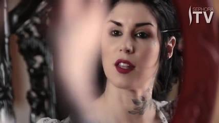 Kat Von D's Everyday Liquid Eyeliner How-to