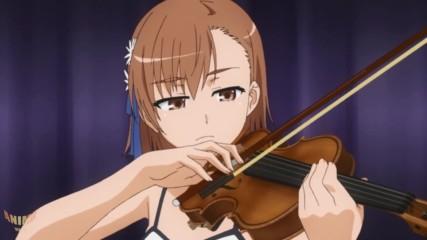 """Mikoto Misaka Plays """"only my railgun"""""""