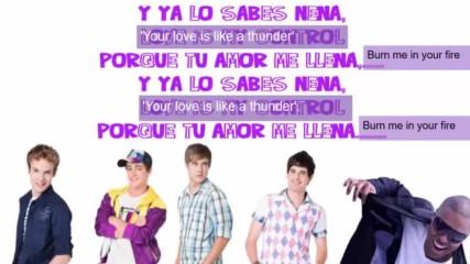 Violetta - Cuando me voy Letra