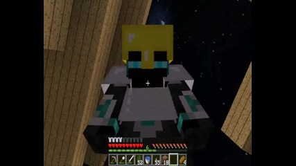 Minecraft Jungle survival with whitenoize and Demona ep13 part2