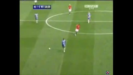 Manchester United Anderson 2007/2008 compilation