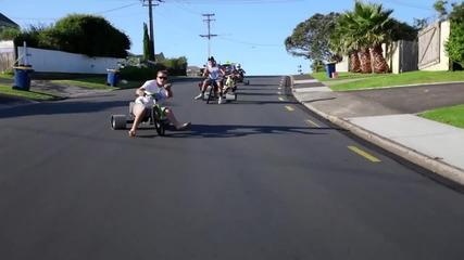 Невероятно Забавление ! Trike Drifting !!