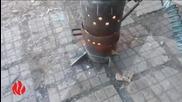 Печка на отработено масло Спарк Торнадо 100