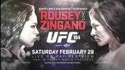 Мачът на годината в женския Мma - Ронда Роузи срещу Кет Зингано