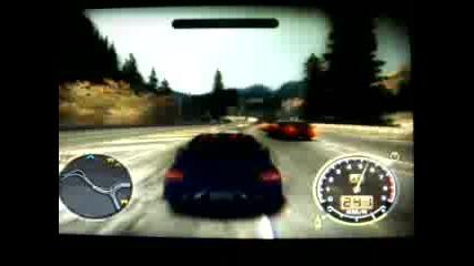 NFS MW mitsubishi evolution 312 km/h