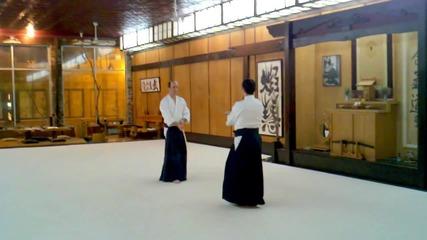Kevin Choate Sensei_ Paired Bokken Exercise 3