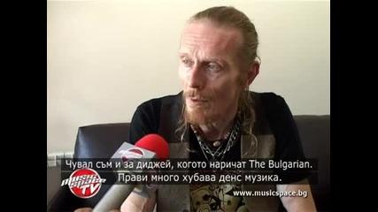 Rob B от Stereo MCs: В България концертите винаги са разцепващи