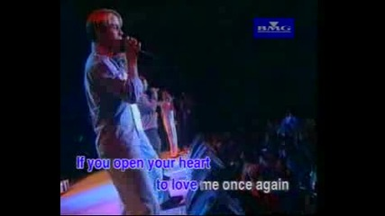 Westlife - Open Your Heart