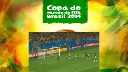 Германия направо премаза Бразилия с резултат 7:1