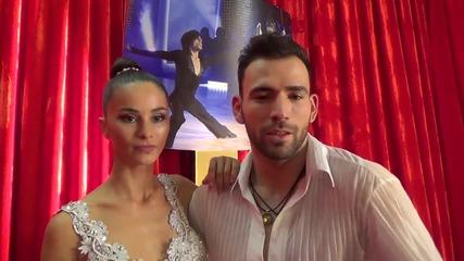 Dancing Stars - Вили Марковска и Наско отново заедно на сцената (24.04.2014г.)