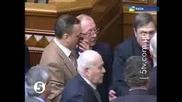 Бой  в Парламента ! Украйна