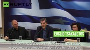Varoufakis Welcomes New Greek FinMin Tsakalotos