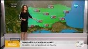 Прогноза за времето (24.02.2016 - сутрешна)