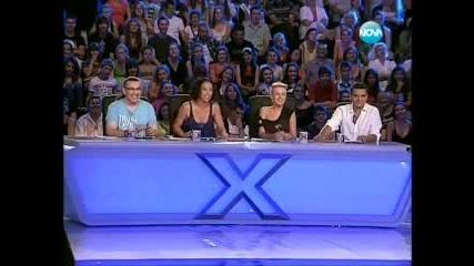X-factor ! Мойсей и Ангел , разтърсват журито и публиката !