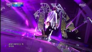 Sunmi - Full Moon (remix) + 24 Hours (feat. Yugyeom of Got7) @ 141231 Mbc Gayo Daejun