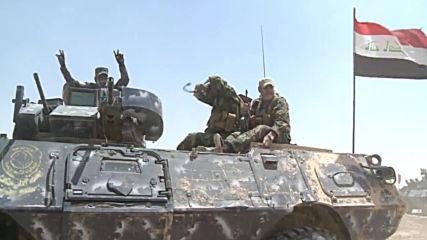 Iraq: Iraqi forces bombard IS-held city of Fallujah