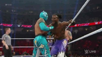 The Lucha Dragons & Los Matadores vs The New Day & The Ascensio: Raw 03 August 2015