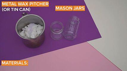 Jar decorations: Scent your house