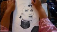 Господарката На Злото - бързо рисуване