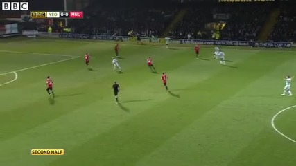 Йоувил Таун 0-2 Манчестър Юнайтед 04.01
