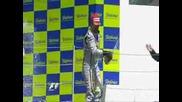 Кими Райконен - подиум в Гран При на Европа 2009