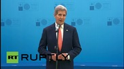 """Turkey: """"Critical moment for action by Russia"""" – Kerry at Antalya NATO summit"""